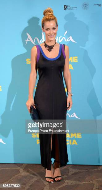 Alejandra Onieva attends the 'Senor dame paciencia' premiere at Fortuny Palace on June 15 2017 in Madrid Spain