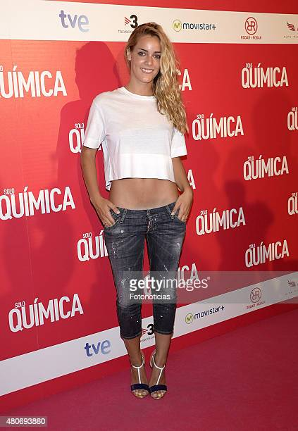 Alejandra Onieva attends the 'Solo Quimica' Premiere at Palafox Cinema on July 14 2015 in Madrid Spain