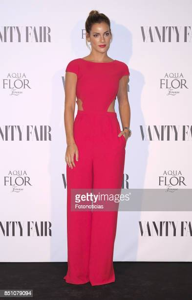 Alejandra Onieva attends the Vanity Fair cocktail at the Casino de Madrid on September 21 2017 in Madrid Spain