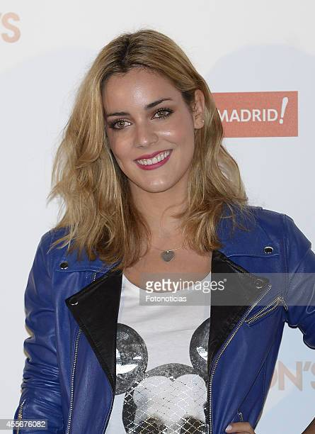 Alejandra Onieva attends the Vogue Fashion's Night Out Madrid 2014 on September 18 2014 in Madrid Spain