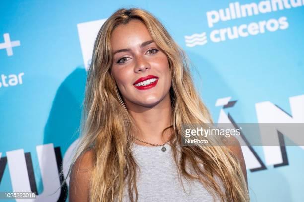 Alejandra Onieva attends to premiere of Yucatan at Kinepolis Cinema in Madrid Spain August 29 2018