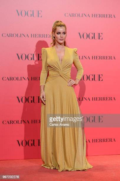 Alejandra Onieva attends Vogue 30th Anniversary Party at Casa Velazquez on July 12 2018 in Madrid Spain