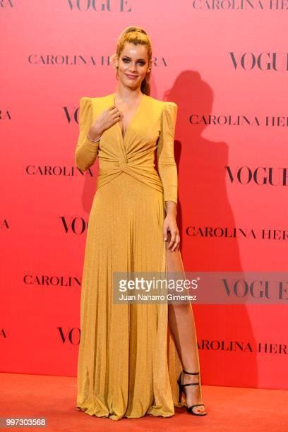 Alejandra Onieva attends Vogue 30th Anniversary Party at Casa Velazquez on July 12 2018 in Madrid Spain