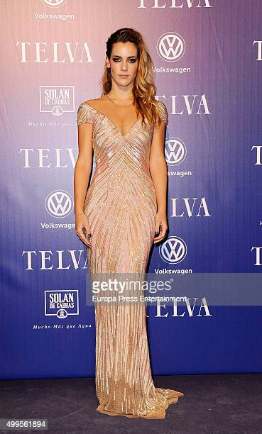Alejandra Onieva attends XXV Telva Fashion Awards 2015 at the Royal Theatre on December 1 2015 in Madrid Spain