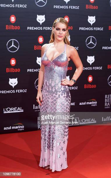 Alejandra Onieva on the red carpet during the Feroz Awards 2019 on January 19 2019 in Bilbao Spain