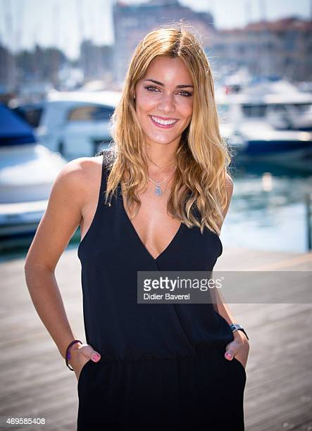 Alejandra Onieva poses during the 'Dalia De Las Hadas' photocall at MIPTV on April 13 2015 in Cannes France