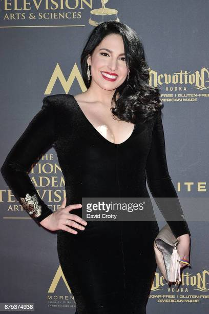 Alejandra Oraa attends the 44th Annual Daytime Emmy Awards Arrivals at Pasadena Civic Auditorium on April 30 2017 in Pasadena California