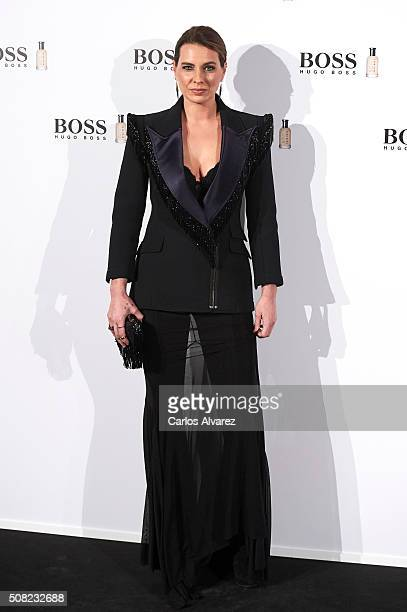 Alejandra Osborne attends Hugo Boss 'Man Of Today' presentation at the NH Eurobuilding Hotel on February 3 2016 in Madrid Spain