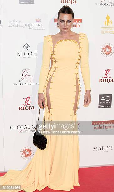 Alejandra Osborne attends the Global Gift Gala 2016 at Cibeles Palace on April 2 2016 in Madrid Spain