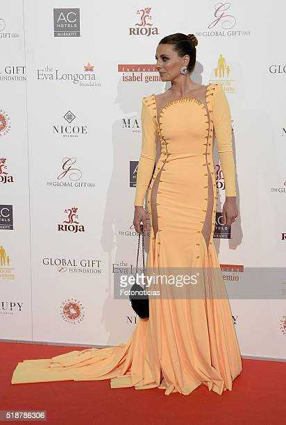 Alejandra Osborne attends the Global Gift Gala at the Palacio de Cibeles on April 2 2016 in Madrid Spain