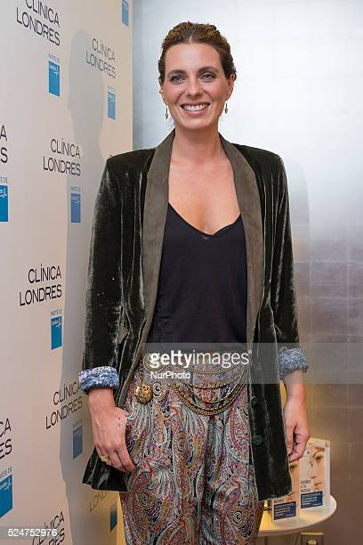Alejandra Osborne new ambassador Beauty Clinic in Madrid on October 29 2015