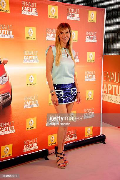 Alejandra Prat attends a press presentation of new Renault cars at the Barcelona Auto Trade Fair on May 10 2013 in Barcelona Spain