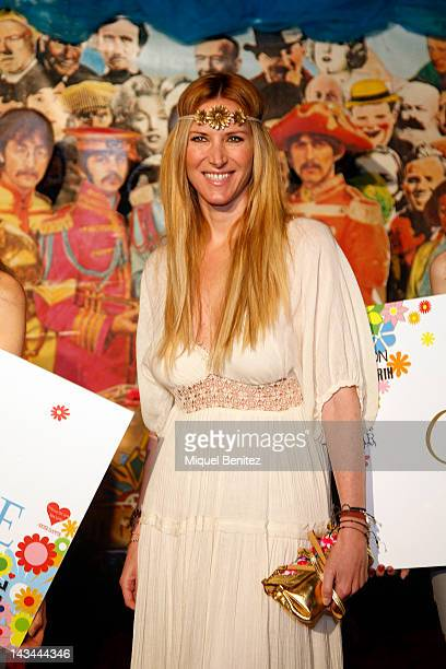 Alejandra Prat attends 'Flower Power Pacha Ibiza Party' on April 26 2012 in Barcelona Spain