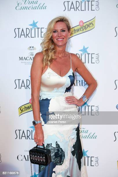 Alejandra Prat attends Starlite Gala on August 13 2017 in Marbella Spain