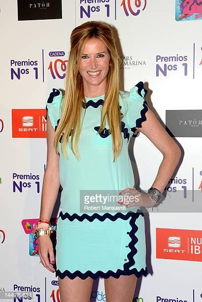 Alejandra Prat attends the 'Cadena 100 Number 1 Awards 2012' at the Hotel Gran Marina on May 21 2012 in Barcelona Spain