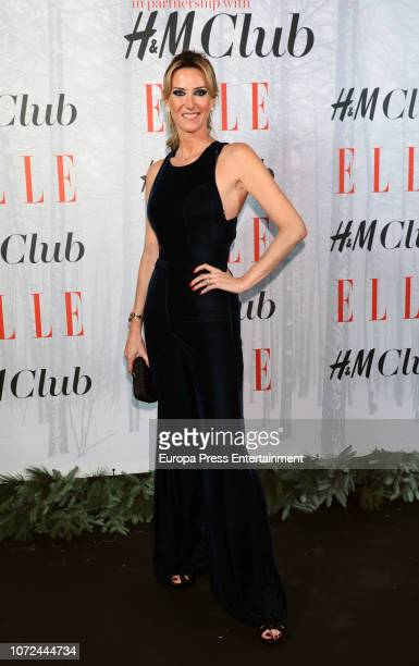 Alejandra Prat attends the Elle Christmas Party on December 12 2018 in Madrid Spain