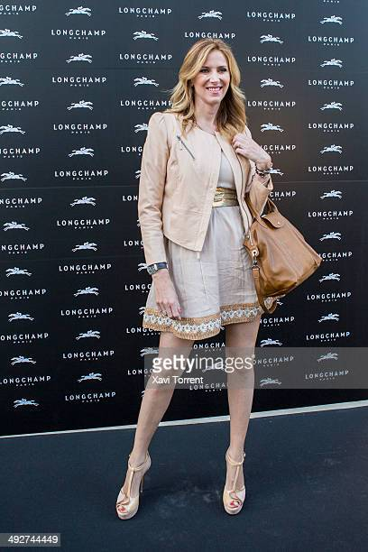 Alejandra Prat attends the opening of Longchamp Store at Passeig de Gracia on May 21 2014 in Barcelona Spain