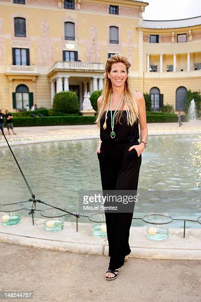 Alejandra Prat attends the TCN fashion show as part of the 080 BCN Fashion Week Spring/Summer 2013 on July 12 2012 in Barcelona Spain