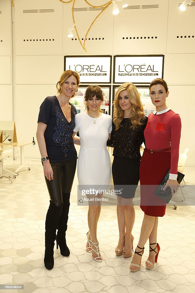 Blanca Suarez is Patroness of New L'Oreal Academy in Barcelona