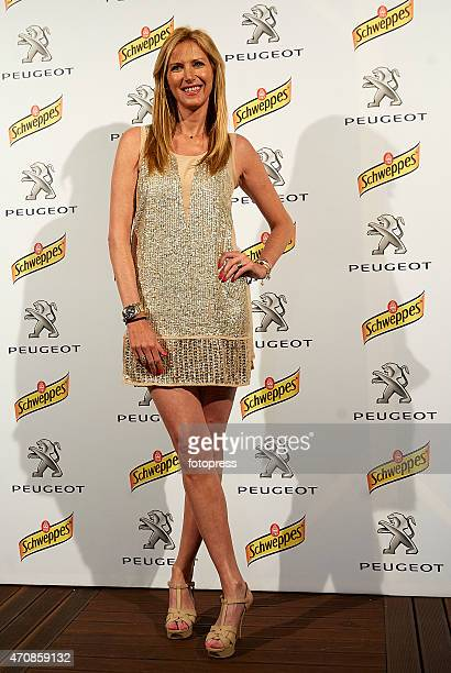 Alejandra Prats attends day four of the Barcelona Open Banc Sabadell at the Real Club de Tenis Barcelona on April 23 2015 in Barcelona Spain