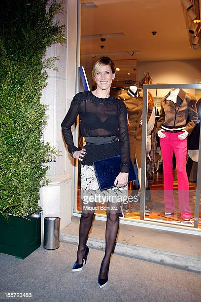 Alejandra Prats attends the opening of the new Stella McCartney fashion store on November 7 2012 in Barcelona Spain