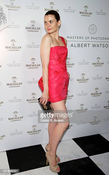 """Alejandra Rojas attends """"Master of Photography"""" exhibition at Galileo Theater on June 8, 2011 in Madrid, Spain."""