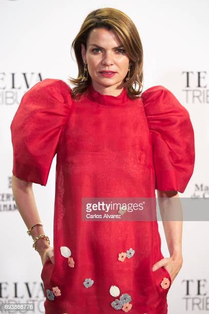 Alejandra Rojas attends Paco Rabanne exhibition at the Real Academia de Bellas Artes de San Fernando on June 8 2017 in Madrid Spain