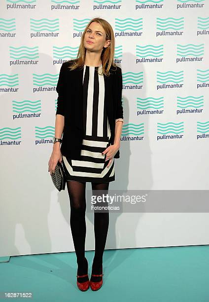 Alejandra Rojas attends the Blue Night by Pullmantur at Neptuno Palace on February 28 2013 in Madrid Spain