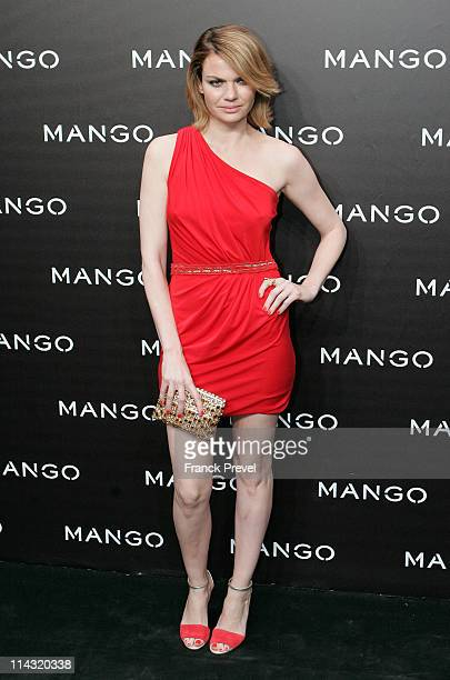 Alejandra Rojas attends the Mango new collection launch at Centre Pompidou on May 17 2011 in Paris France