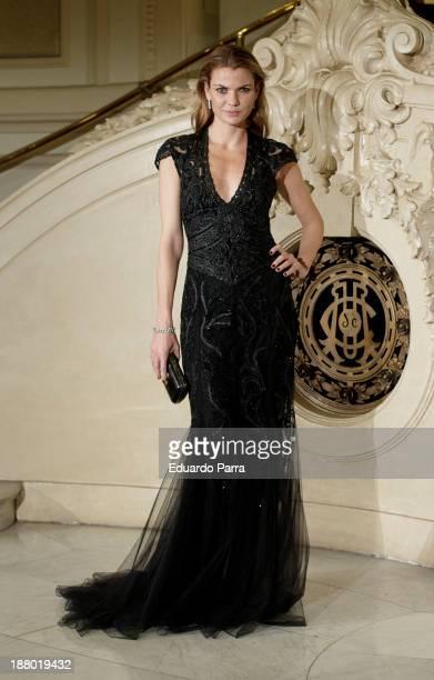 Alejandra Rojas attends the Ralph Lauren Dinner Charity Gala at the Casino de Madrid on November 14 2013 in Madrid Spain