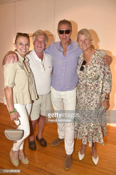 "Alejandra Rossetti, Olaf Neubert, Pedro Ryan and Anne Prosser attend the release of Christophe von Hohenberg's new book ""The White Album of The..."