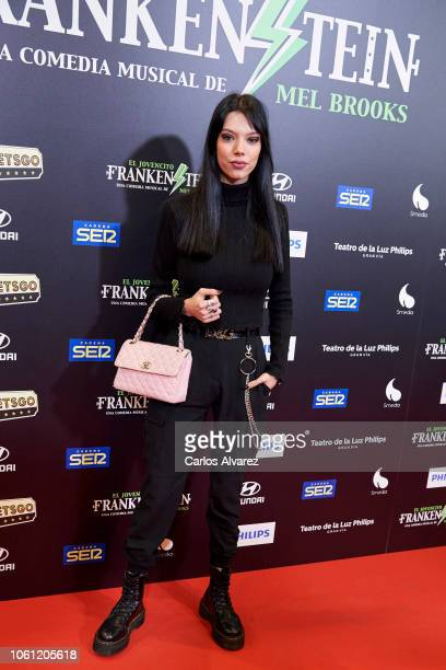 Alejandra Rubio attends 'El Jovencito Frankenstein' premiere at La Luz Philips Teather on November 13 2018 in Madrid Spain