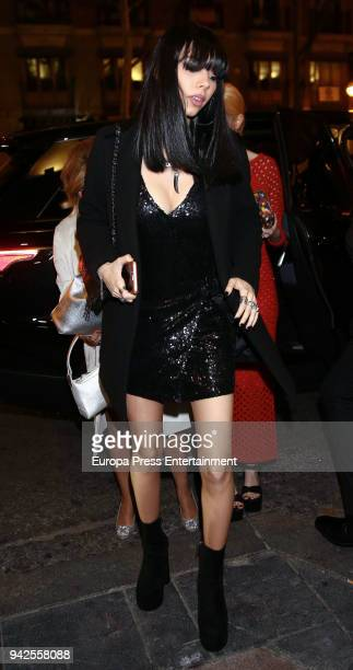 Alejandra Rubio attends her birthday photocall at Gabana disco on April 5 2018 in Madrid Spain