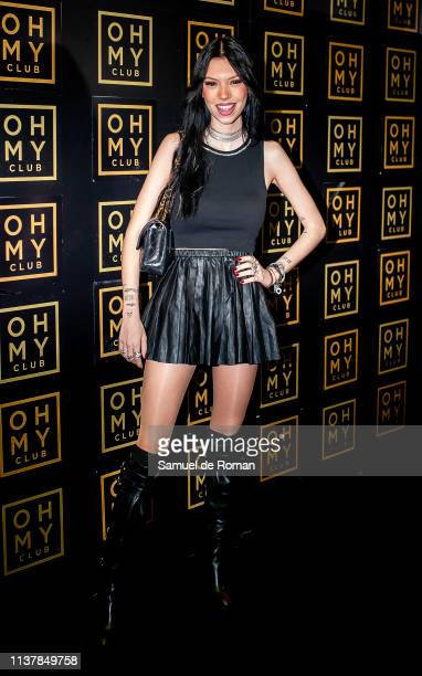 Alejandra Rubio celebrates her birthday on March 23 2019 in Madrid Spain