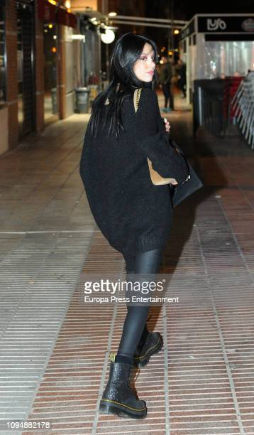 Alejandra Rubio is seen on January 15 2019 in Madrid Spain