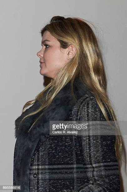 Alejandra Ruiz Rato attends the Padre Arrupe Foundation Christmas charity concert at the Auditorio Nacional on December 19 2017 in Madrid Spain