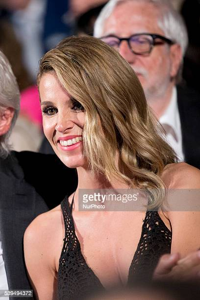 Alejandra Silva attends 62 Taormina Film Fest Opening on June 10 2016 in Taormina Italy