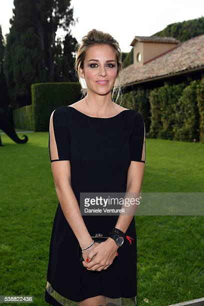 Alejandra Silva attends the dinner hosted by Baume Mercier to celebrate Richard Gere 'Time Out Of mind' on June 8 2016 in Rome Italy