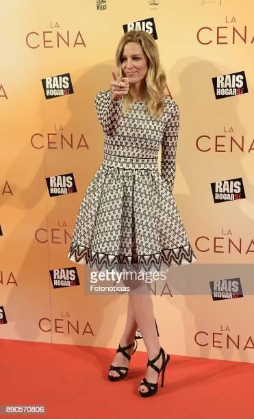 Alejandra Silva attends the 'La Cena' premiere at the Capitol cinema on December 11 2017 in Madrid Spain