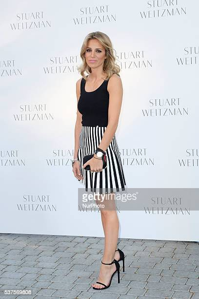 Alejandra Silva attends the party Stuart Weitzman at the US Embassy in Madrid, Spain, on first June 2016.