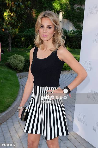 Alejandra Silva Attends The Party Stuart Weitzman At The Us Embassy In Madrid Spain On First