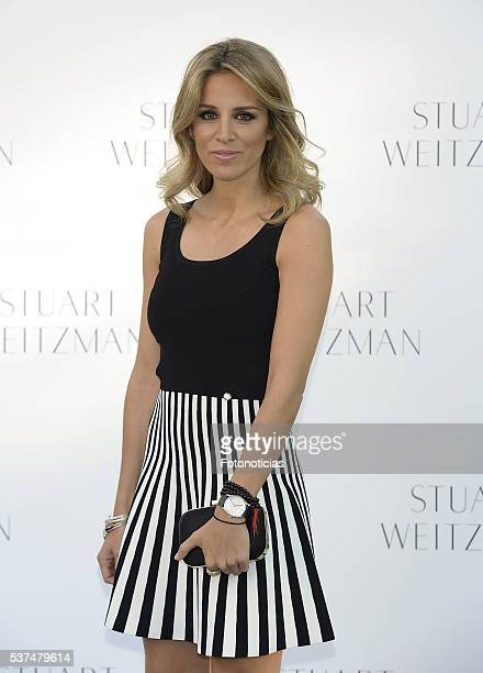 Alejandra Silva attends the Stuart Weitzman cocktail party at the US Ambassador's Residence on June 1 2016 in Madrid Spain