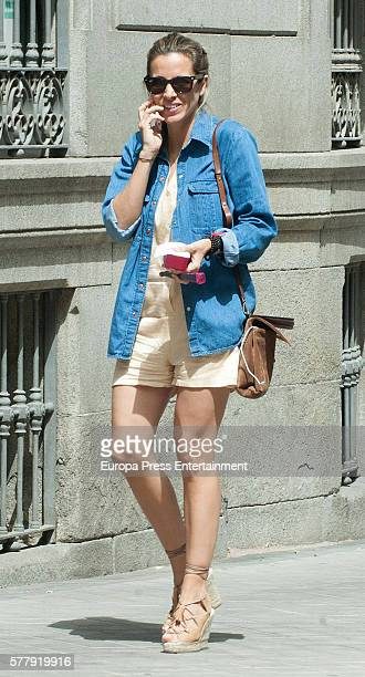 Alejandra Silva is seen on July 19 2016 in Madrid Spain