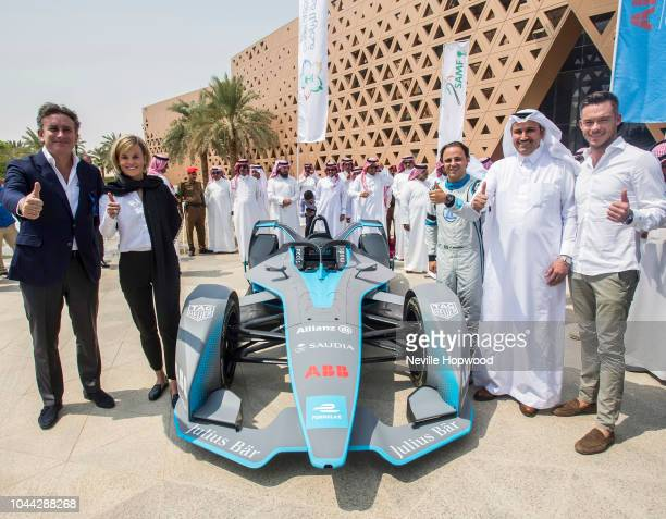 Alejandro Agag Founder and CEO of Formula E Susie Wolff Venturi Team Principal and major shareholder Felipe Massa Team Venturi driver His Excellency...
