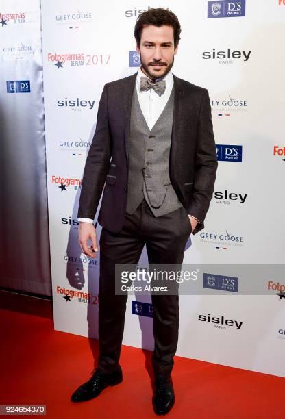 Alejandro Albarracin attends 'Fotogramas Awards' at Joy Eslava on February 26 2018 in Madrid Spain