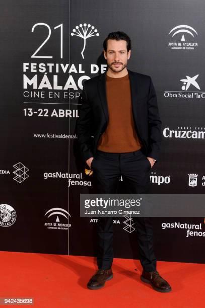 Alejandro Albarracin attends Malaga Film Festival 2018 presentation at Circulo de Bellas Artes on April 5 2018 in Madrid Spain