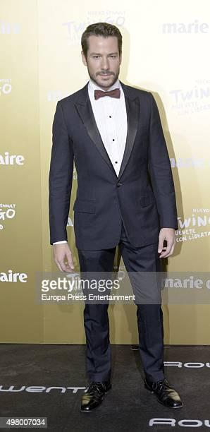 Alejandro Albarracin attends Marie Claire Prix de la Moda Awards 2015 at Callao cinema on November 19 2015 in Madrid Spain