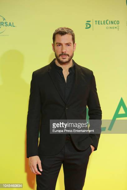 Alejandro Albarracin attends 'Ola de Crimenes' premiere on October 3 2018 in Madrid Spain
