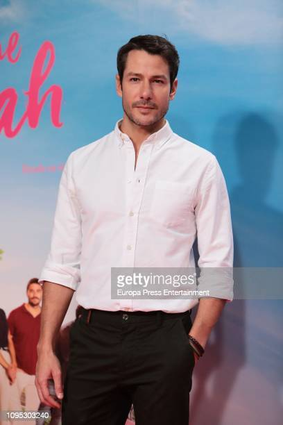 Alejandro Albarracin attends the 'Gente que viene y bah' premiere at Capitol cinema on January 16 2019 in Madrid Spain