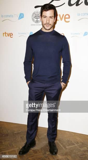 Alejandro Albarracin attends the 'La Princesa Paca' photocall at Ateneo on February 15 2017 in Madrid Spain